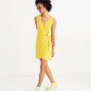 Madewell Texture & Thread wrap dress size large